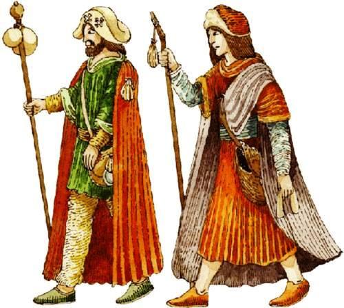 Le disavventure di messer Rinaldo da Ferrara. Novella tratta dal Decameron. Medievali